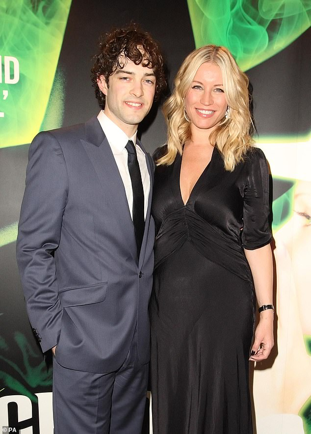 Ex: She shares her only child with West End star Lee Mead and the pair tied the knot in 2009 before separating four years later (pictured in 2010)