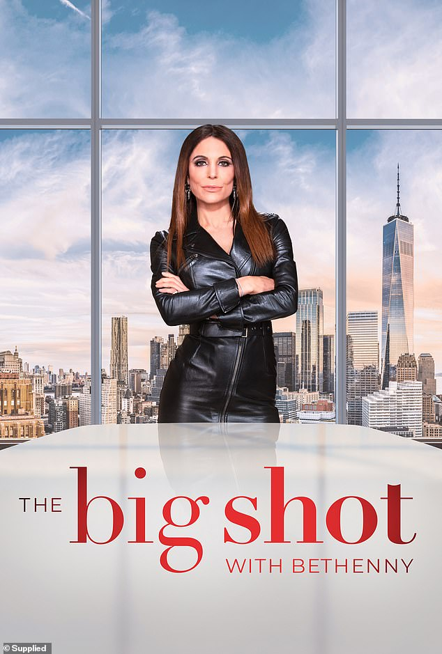 Tune in! Nicole is currently starring in Bethenny Frankel's new business competition show, The Big Shot With Bethenny