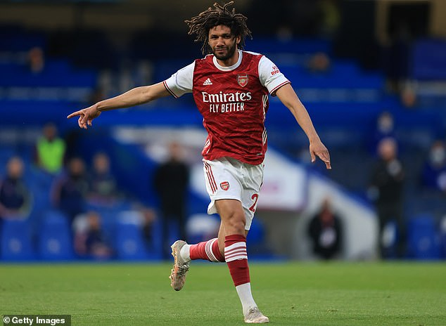 Board of Deputies of British Jews official Tal Ofer called on the FA to ban Elneny (pictured)