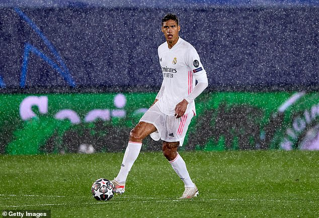 Real Madrid want £60million for centre-back Raphael Varane, according to reports