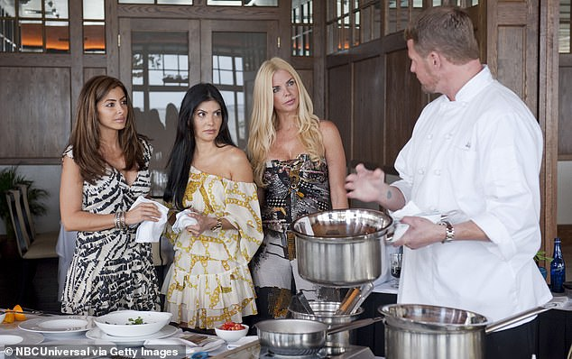 Moving on quickly: The reality television personality left the show after the conclusion of its first season in 2011
