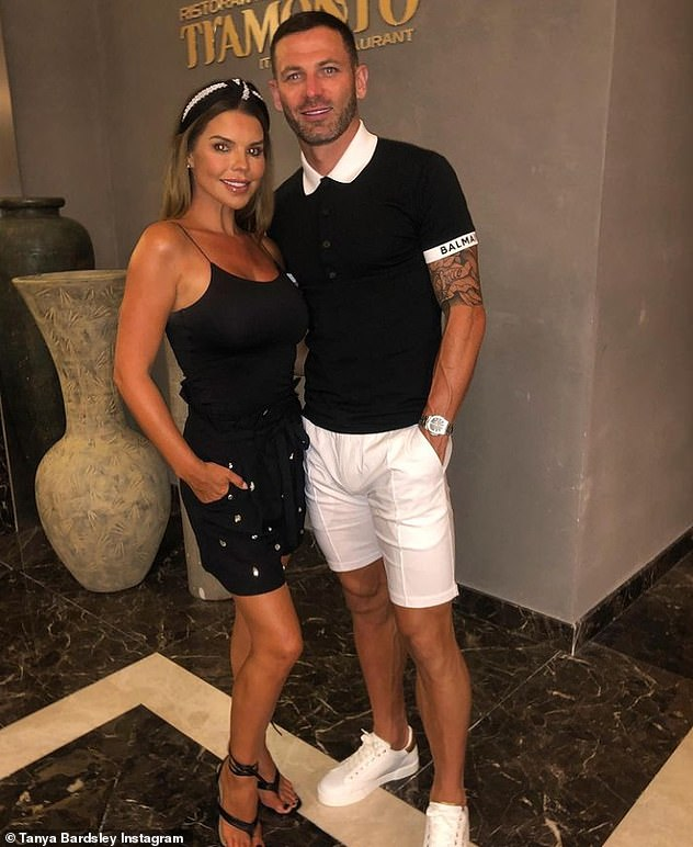 Happy couple: The Real Housewives of Cheshire star has said her husband, who she married back in 2014, has been supportive of the condition