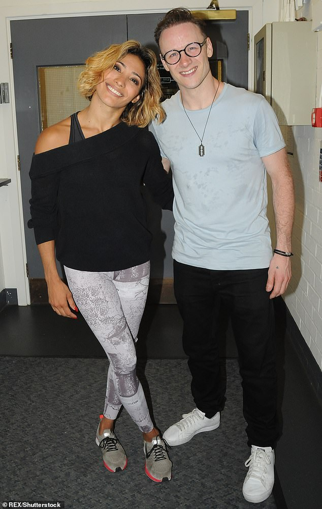 Ex:The Venezuelan star, 39, separated from her husband of three years, 38, in 2018 and he swiftly moved on with former Strictly contestant Stacey Dooley (pictured in 2018)