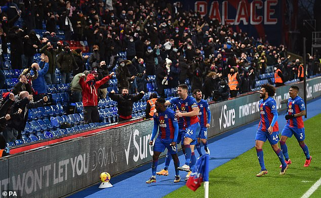 Crystal Palace will welcome some fans back to Selhurst Park on Wednesday against Arsenal