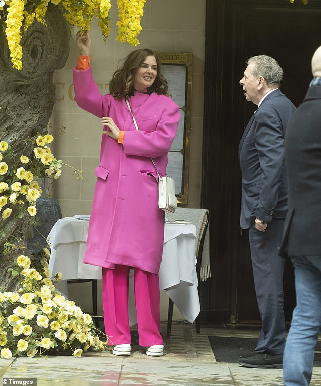 Couple:Trinny and Saatchi have been dating since 2013, following the businessman's divorce from celebrity chef Nigella Lawson