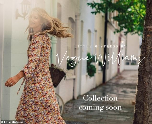 Coming soon: Vogue is soon to be releasing a collection with Little Mistress