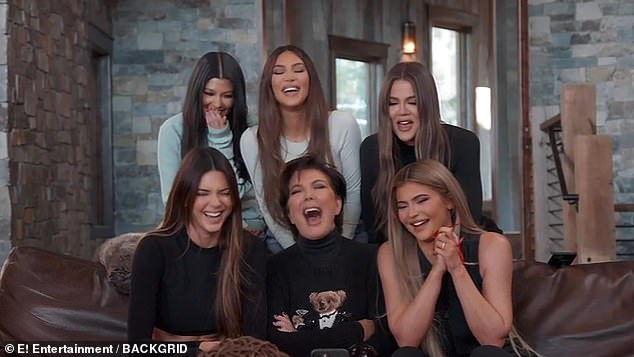 Australia's new reality TV royalty?'Offers are being put forward to green-light a Kardashian-style reality series this year,' the source said. Pictured: the Kardashian-Jenner family