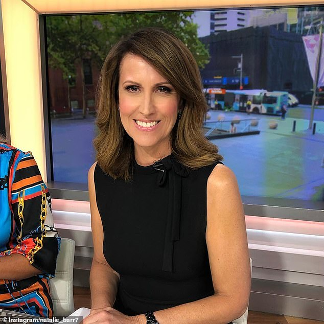 Star:Natalie joined Seven's breakfast show as a newsreader in 2003, and was promoted to co-anchor this year after the departure of Sam Armytage