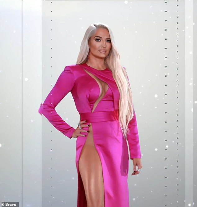 Watching closely: Erika Jayne - who is being investigated amid her estranged husband's embezzlement case - will be scrutinized as she appears on the upcoming season 11 of Real Housewives of Beverly Hills