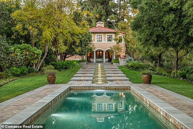 Liquidating assets: A mansion in Pasadena belonging to the former couple was listed this month for $13 million
