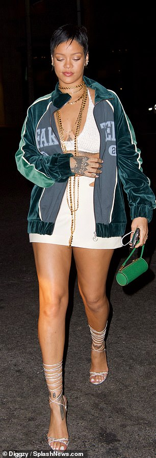 Night on the Town: As she said she was working hard in the studio on new music, with one source claiming she had already planned a music video shoot for July, she was craving a little night out
