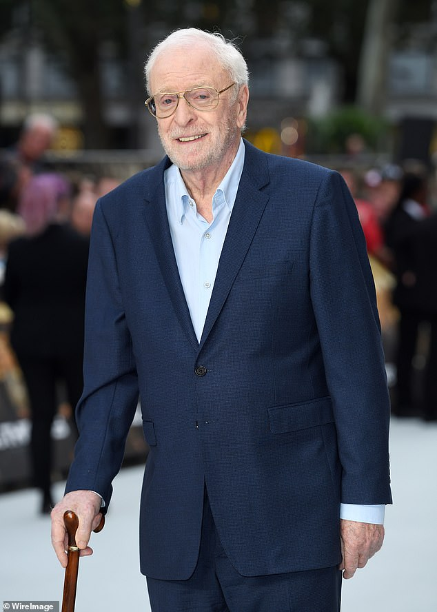 Sweet: The actor, 88, said being a grandfather gave me 'new life' and that he was 'completely in love' with twins Miles and Allegra and his grandson Taylor (photo 2018)