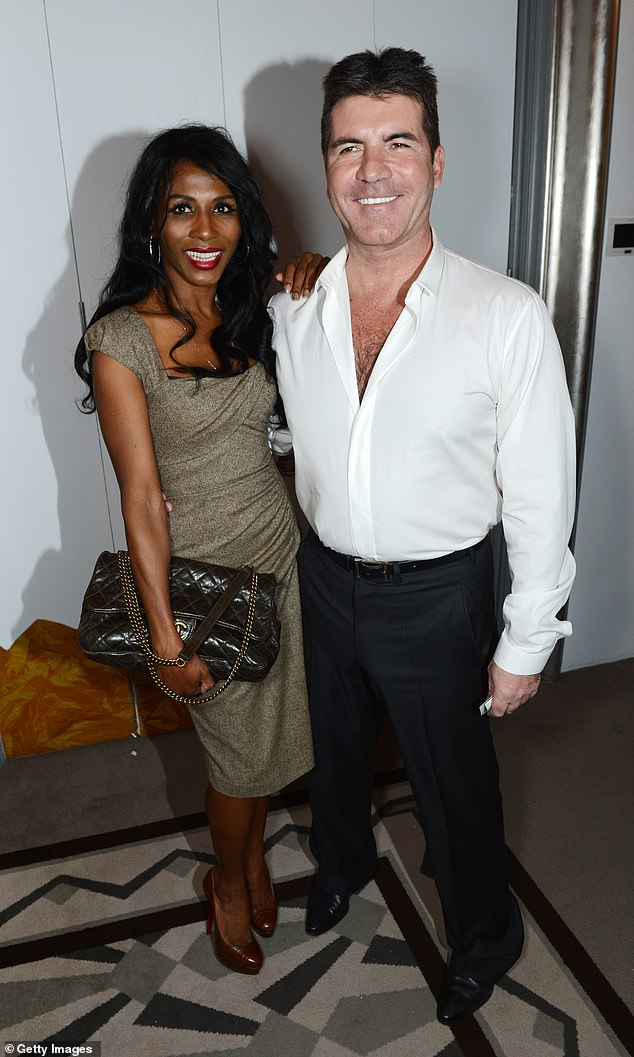 Exciting: She added that the music mogul, 61, is now working on a 'revamped X Factor'