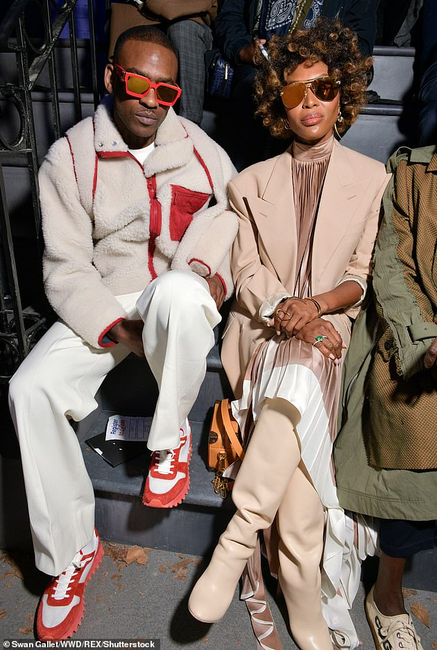 Ex:Naomi and Skepta were reportedly dating for around five months in 2018, with the rapper even referencing her in the song Interlude (Pictured in January 2019)
