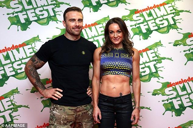 Moving on: Michelle announced her split from longtime partner Steve 'Commando' Willis in January last year