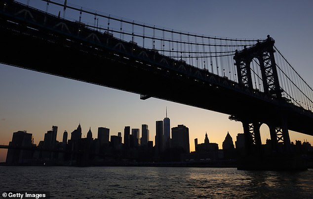 The company trip cost Manor estate agents boss Paul Seller £25,000. Pictured: Stock image of New York skyline