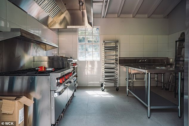 The Mumbai site will be equipped with a kitchen like this one installed in Dominica, to help feed the poor, unwell and destitute