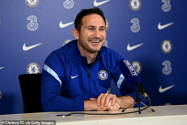 Time to relax! Frank Lampard has told about how he enjoyed spending some downtime with his family following the birth of his son after being sacked as Chelsea manager