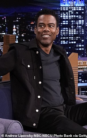 Chris Rock (pictured Tuesday) advised fellow SNL veteran John Mulaney to hire his ex-wife Malaak Compton's attorney upon hearing he was divorcing his wife of six years, Annamarie Tendler
