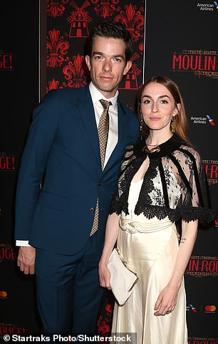 John Mulaney and his estranged wife Annamarie Tendler pictured during happier times in 2019