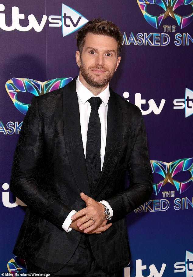 New host: Joel Dommett has signed up to host the National Television Awards in the autumn, after the COVID-19 pandemic scuppered plans for a January ceremony. Pictured in 2019