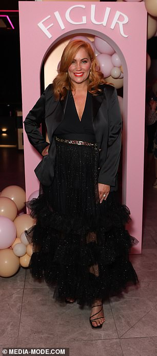 Style maven: Jules happily showcased her style at the event which was held in Sydney's Burwood and attended by a slew of reality stars