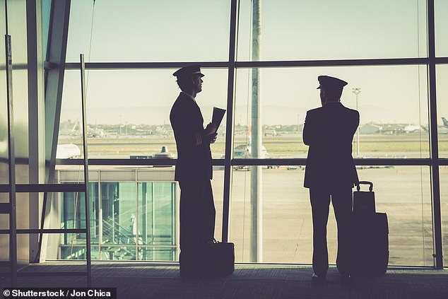 Pilots and flight attendants have been revealing on an online forum how passengers rub them up the wrong way (stock image)