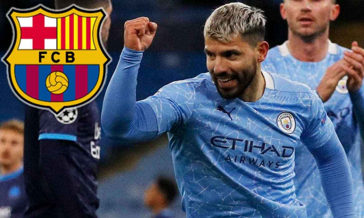 Sergio Aguero 'agrees terms with Barcelona' over free transfer this summer | Daily Mail Online