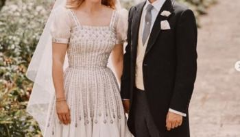 Princess Eugenie has congratulated her big sister Princess Beatrice and Edoardo Mapelli Mozzi after the couple announced their pregnancy yesterday