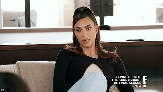 Mean girl:Kim admitted she had intentionally been mean, and all of the sisters recognized that they needed to stop bashing each other