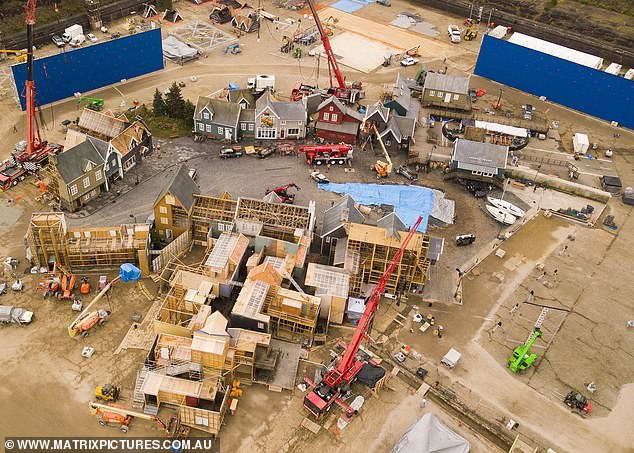 Thor: Love and Thunder FIRST LOOK: Aerial photos obtained by Daily Mail Australia reveal a 'hidden' set for the upcoming Marvel blockbuster in Western Sydney