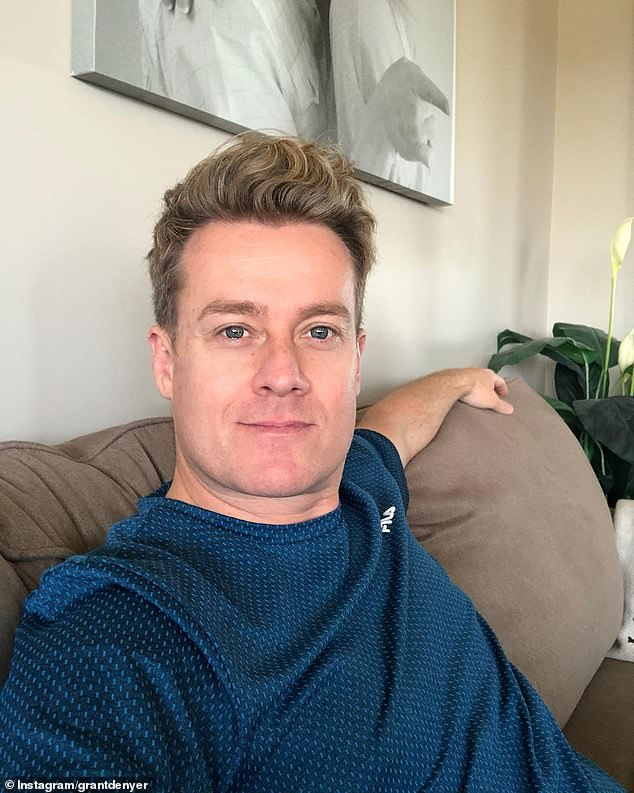 Faking it:Grant Denyer has been targetted by Instagram scammers creating fake profiles pretending to be him