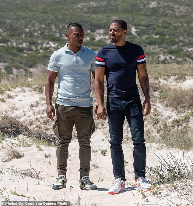 Decision: Sky cancelled Bulletproof on Friday after over 20 women accused star Noel Clarke of sexual harassment and bullying (Clarke pictured with co-star Ashley Walters)