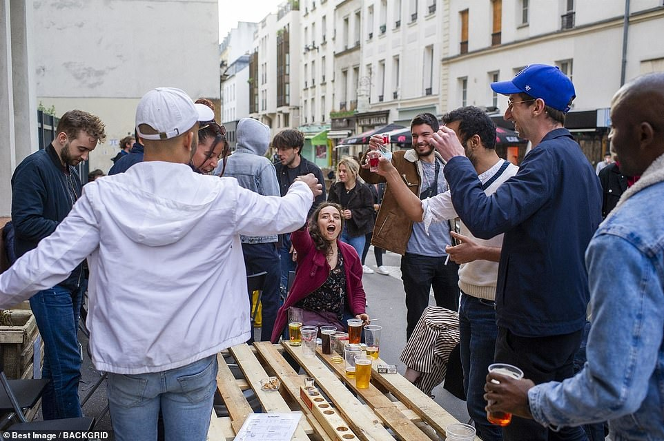 Now holidays are being criminalised by the back door Pictured:Paris, May 19