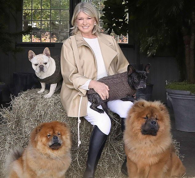 Mark your calendars! Culinary queen and dog lover, Martha Stewart, is hosting a virtual wine tasting next Wednesday (May 26th) to benefit the Humane Society of the United States