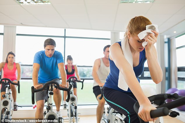 While exercise alone is unlikely to lead to weight loss (that's what the studies show, I'm afraid), it's absolutely vital in so many other ways: being active and fit means better health, better mood and even a better sex life. (File image)