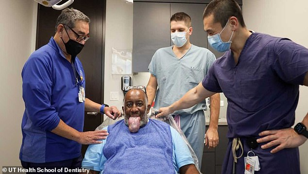 Anthony Jones developed massive macroglossia after being hospitalized with COVID-19. The exact causes of it are unknown. He tongue became so swollen that he could not eat or speak
