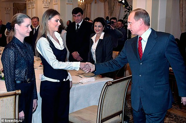 Many Russians saw Alina (pictured) as the reason for the breakup of Putin's marriage to ex-first lady Lyudmila, 62, mother of his two adult daughters