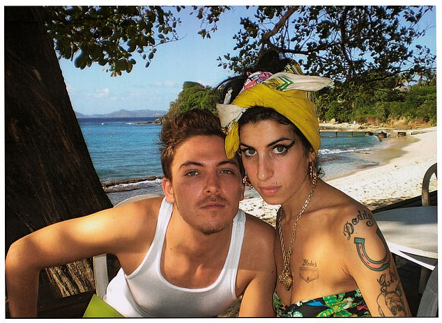 All Amy ever wanted was normality. She always used to say: ¿Fame is like terminal cancer ¿ I wouldn¿t wish it on anyone.¿ (Pictured, Amy Winehouse and Tyler James in Mustique at Basil's Bar)