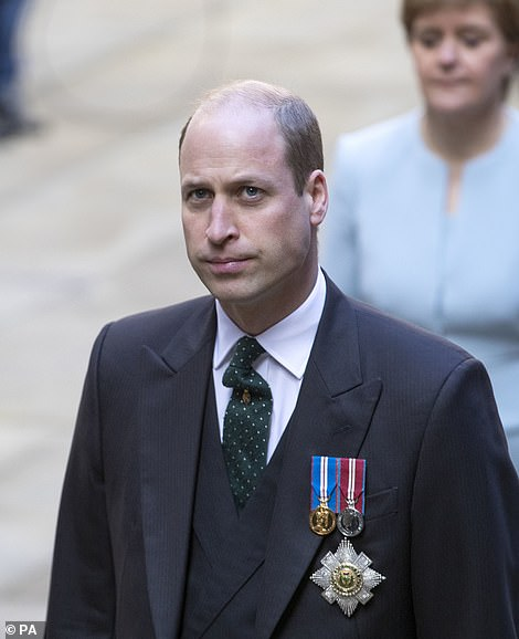 The Duke of Cambridge earlier met the First Minister at the General Assembly of the Church of Scotland in Edinburgh on the second day of his Royal visit