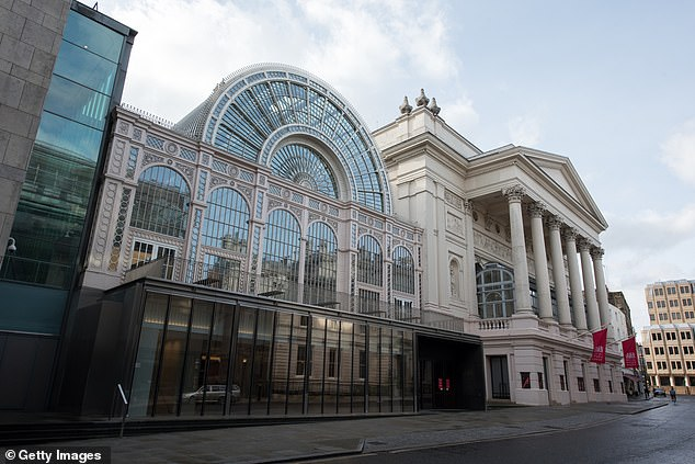 Osborne had previously applied to become chairman of the Royal Opera House, pictured, while friends have said he has put his name forward for a second time