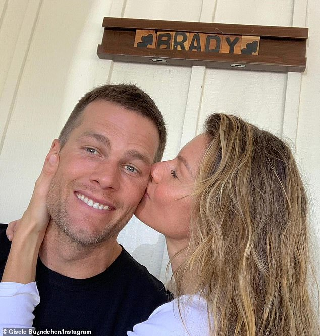 Going strong: The Brazilian beauty, who's been married to NFL great Tom Brady for over 12-years, will turn 41 on July 20