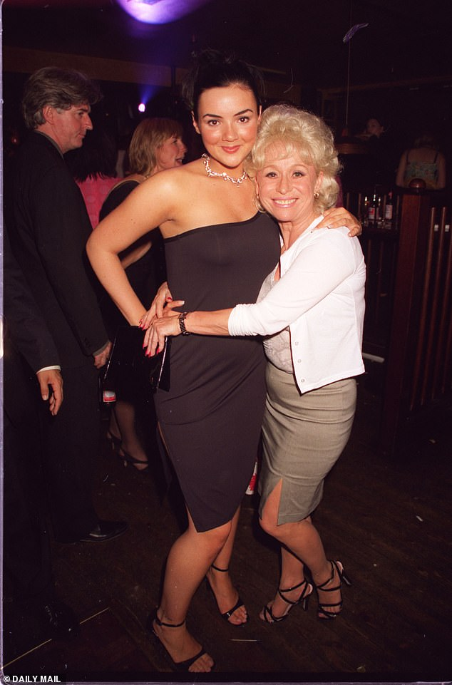 Special skill: Martine McCutcheon , 45, revealed the late Barbara Windsor (pictured together) had a 'photographic memory' before her battle with Alzheimer's Disease