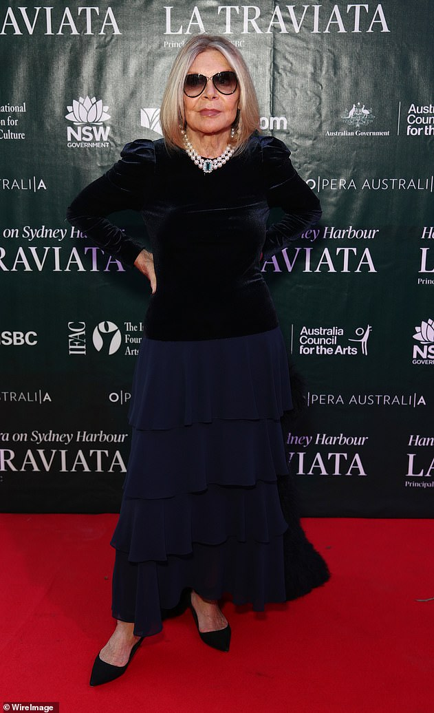 'That was a decision made months ago':Carla Zampatti's (pictured) final collection won't be shown at Australian Fashion Week - following the iconic designer's tragic death