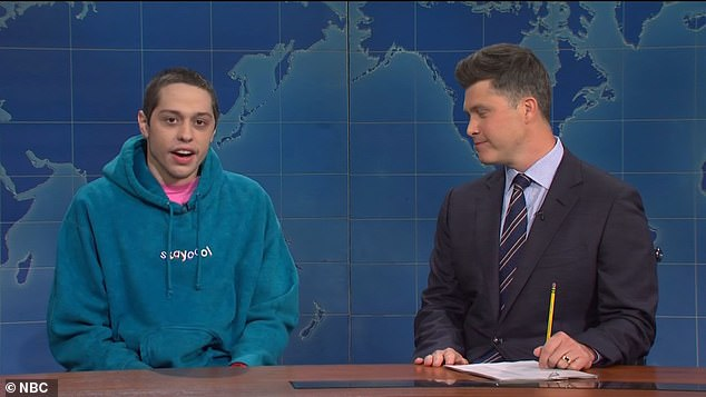 Ouch!Pete Davidson took a major dig at Chrissy Teigen during this week's episode of Saturday Night Live