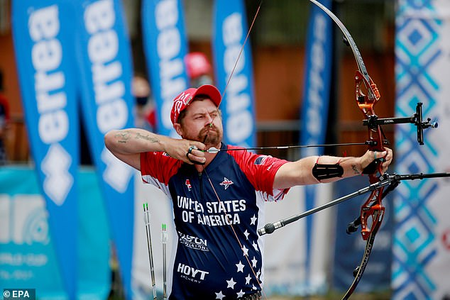 Brady Ellison has never won Olympic Gold but reclaimed his World No 1 status in 2019