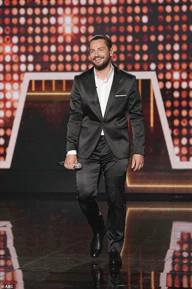 The winner! In the end, Chayce Beckham was crowed the winner of American Idol season 19