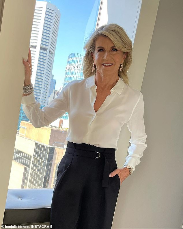 Dream team: Producers are also reportedly targeting former Minister for Foreign Affairs Julie Bishop (pictured)
