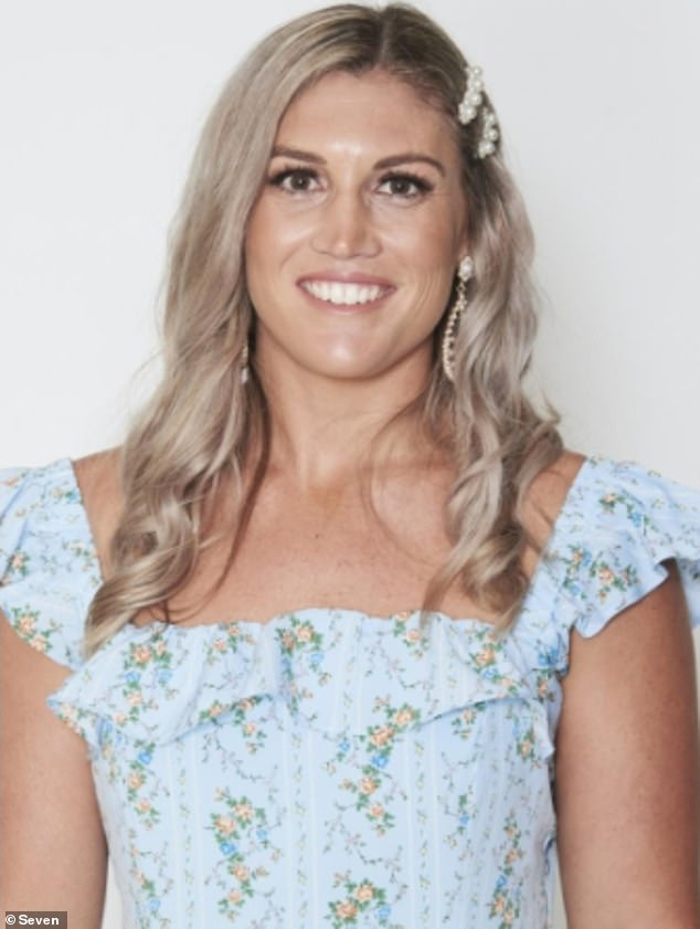 In love: While the name of the lucky lady has not been revealed, The Daily Telegraph revealed on Monday that Andrew's final three are Ashleigh Adams, Jess Nathan and Rachel Smith. Pictured: Ashleigh Adams