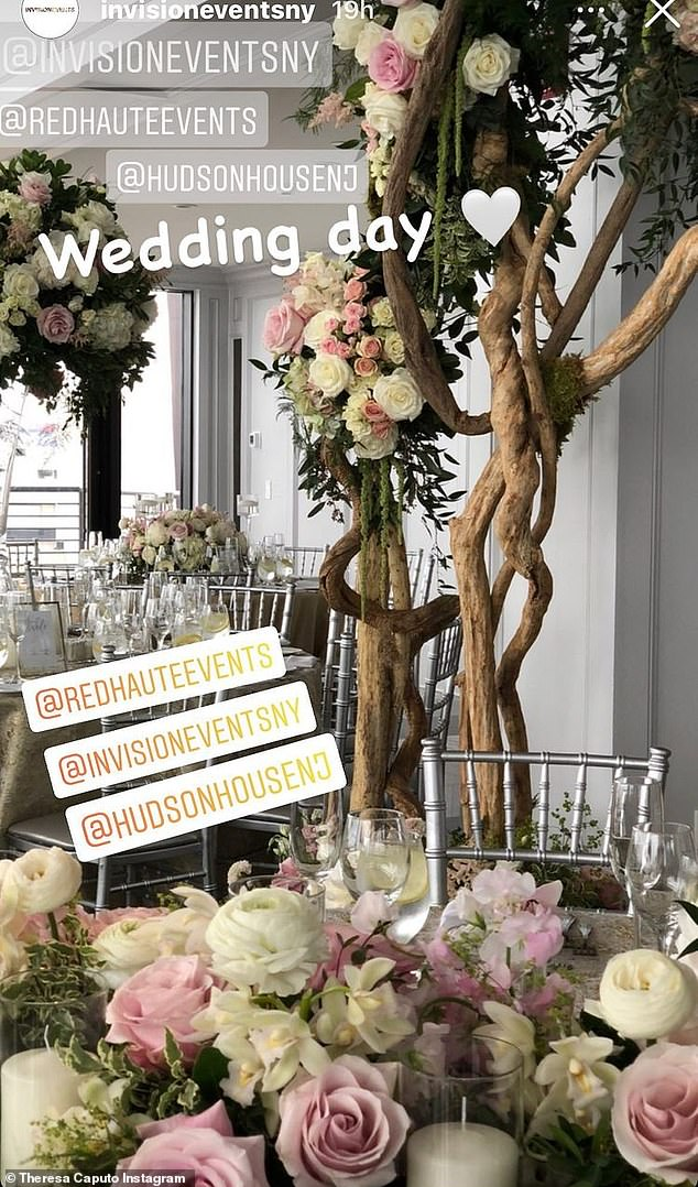 Florals:The room was decorated beautifully with round tables with gray tablecloths and silver chairs. The decorations on the table were pink and white roses with white orchids and candles in hurricane lamps